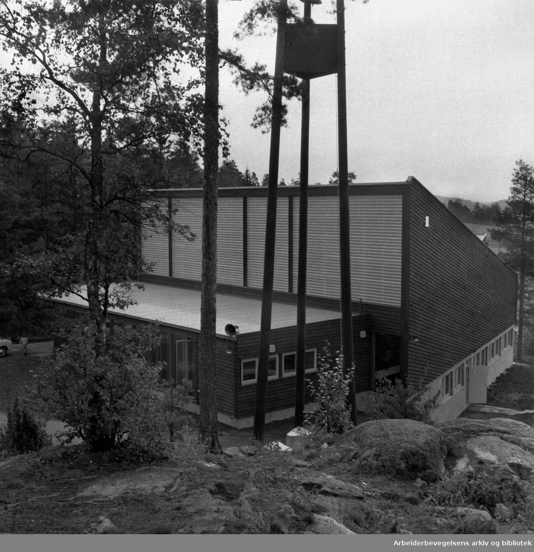 Bøler kirke. September 1960