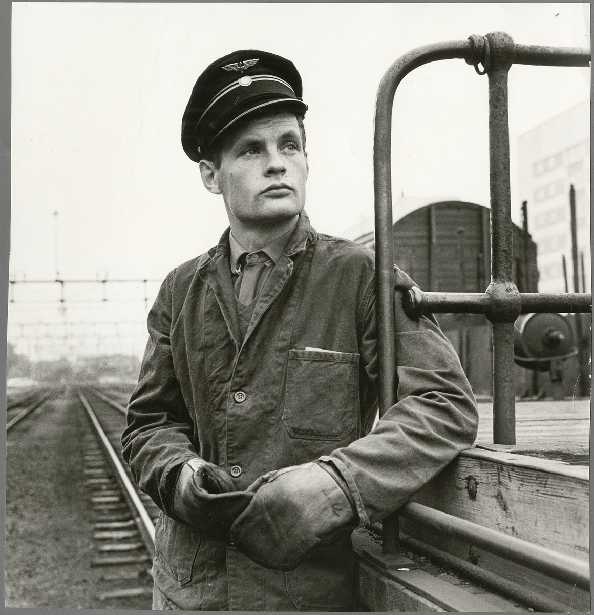 Sören Lundstedt, hade 1967 bl a växlingstjänst vid Eskilstuna centralstation.