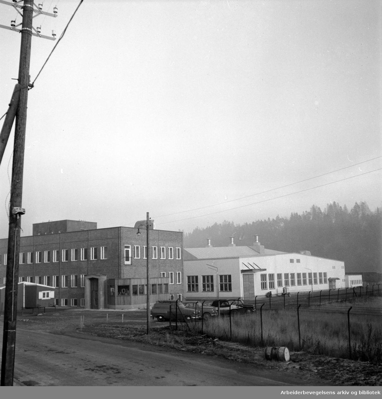 Bryn. Norsk viftefabrikk. November 1955