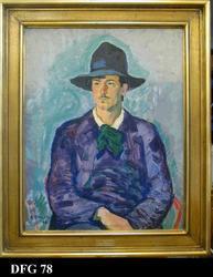 Portrett. Maleren Theodor Laureng [Maleri]