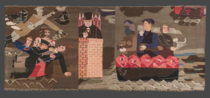 """Hannah Ryggen, """"6. oktober 1942"""""""