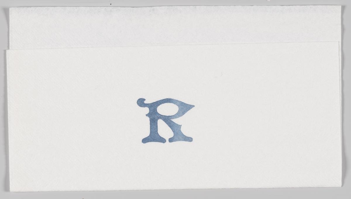 Bokstaven R som reklamerer for firma/produkt (ukjent)