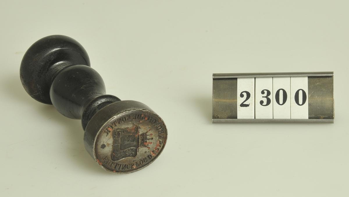 Ursprungligen använd vid Kullings fögderis kronofogdekontor.