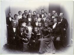 Bröllopsfoto från Edgar Norinder och Anna Lenanders bröllop