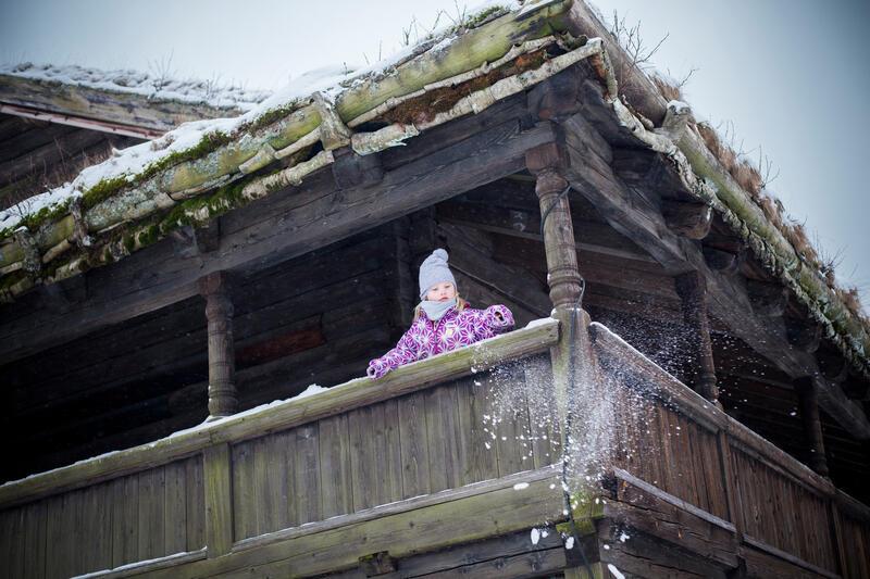 Winter wonderland at Gamle Hvam Museum