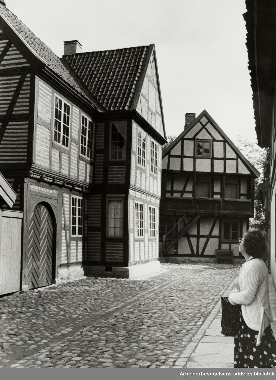 Bygdøy Folkemuseum. Eksteriør. August 1980