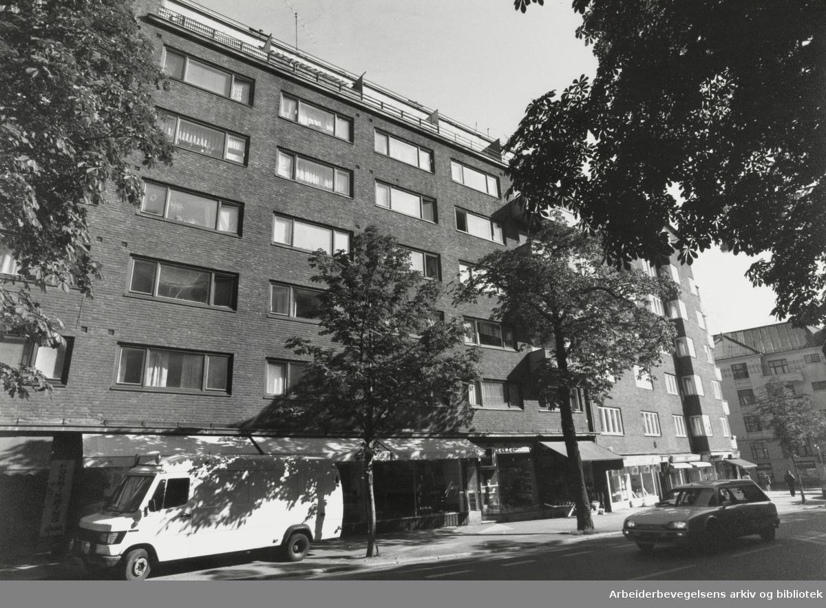 Bygdøy Allé 35. September 1990