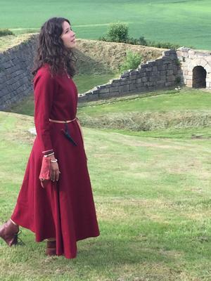 Magnus den Blindes mor Borghild Olavsdatter til Mikladal