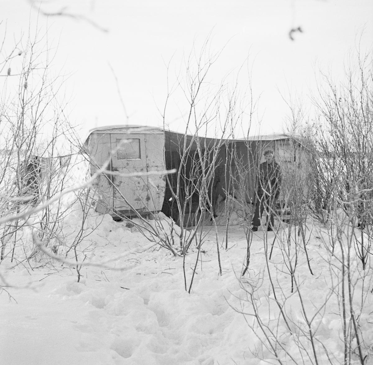 Kamouflerade fordon vid Svenska frivilligkåren i Finland, F 19.