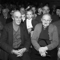 Julfest i Kyrkmons skola för Njurundas pensionärer.