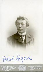 Brystbilde av Hans K. Hegna