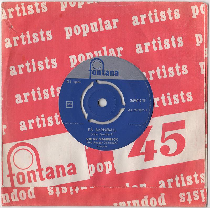 Vidar Sandbeck single nr. 9
