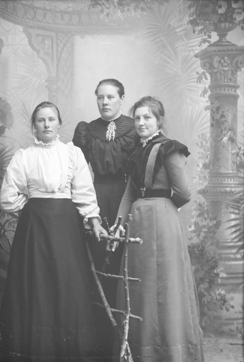 Gruppebilde, fra venstre Guri (Gurid) Sandbo, Ragnhild Haugen og Marit Langdalen