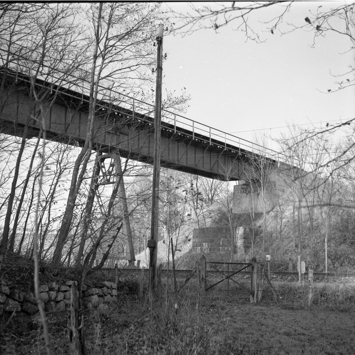 Viadukt i samband med nedläggning. Billesholm - Landskrona.