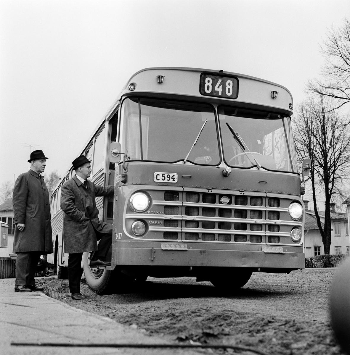 Linje 848. Busstrafik Uppsala - Heby - Sala