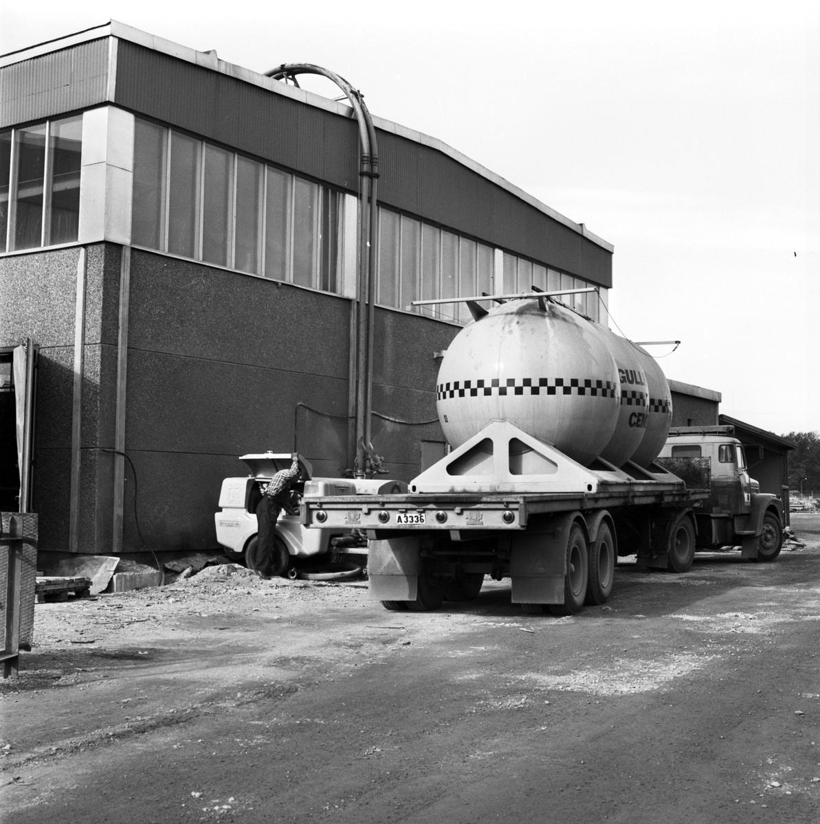 Cementtransport, Gullhögen