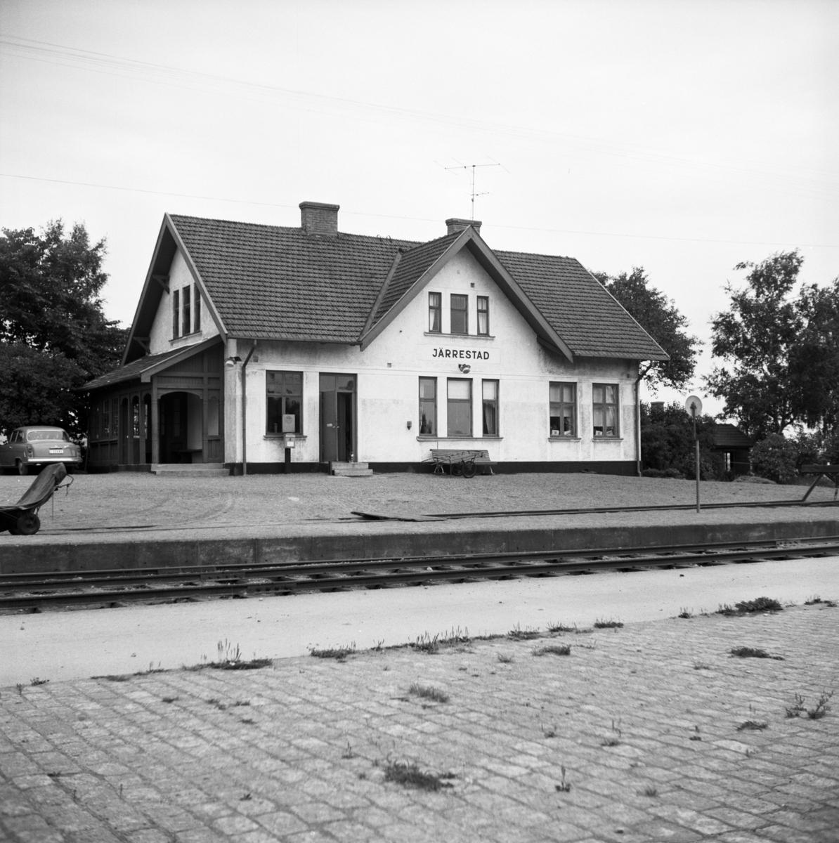 Simrishamn - Tommelilla Järnväg, CTJ,  Järrestad station.