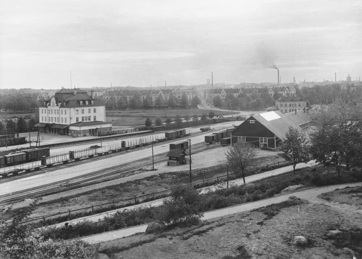 Norrköping östra station.
