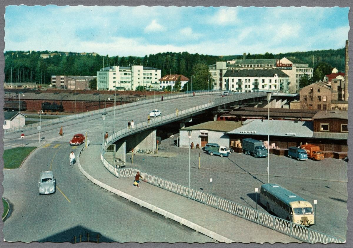 Borås centralstation från gatusidan.
