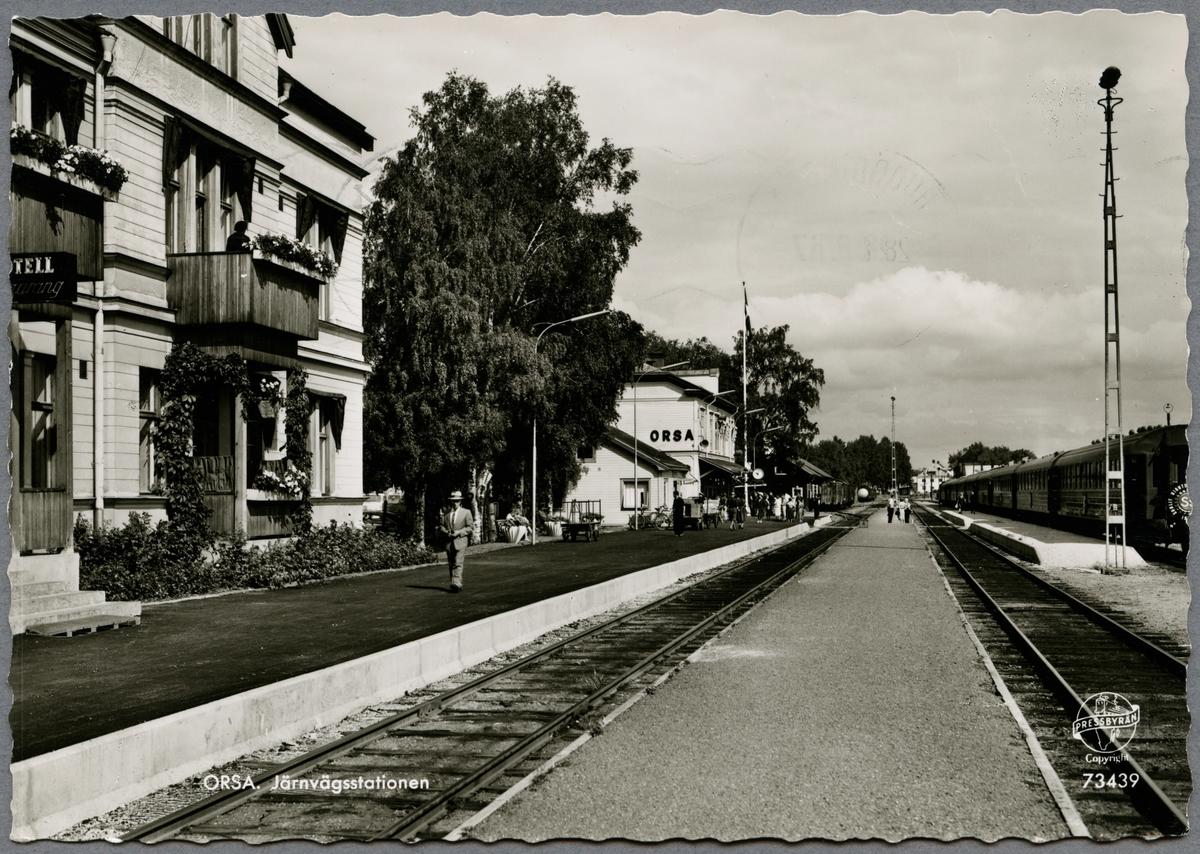 Orsa station.