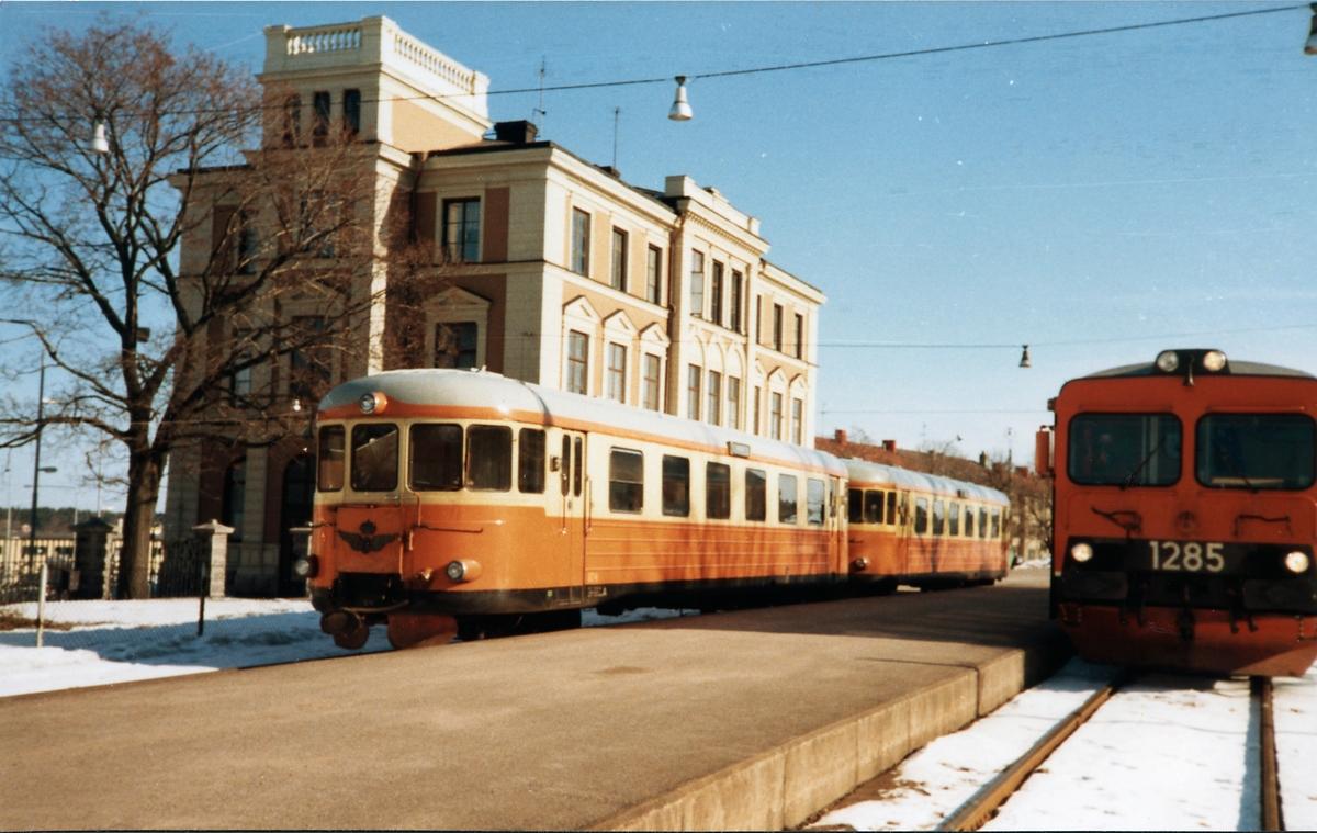 Rälsbuss, Statens Järnvägar, SJ YP 874, SJ YP 881, SJ Y1 1285.