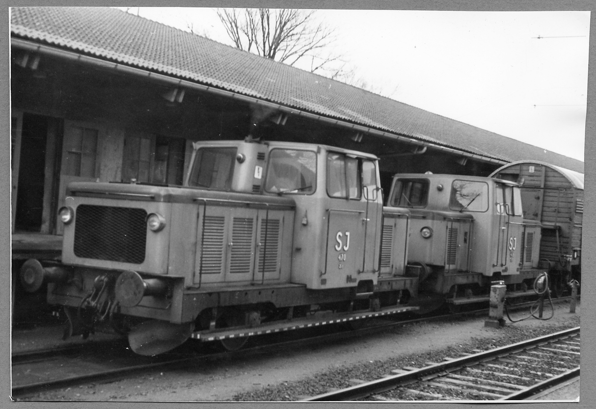 Statens Järnvägar, SJ Z43 469, SJ Z43 470.