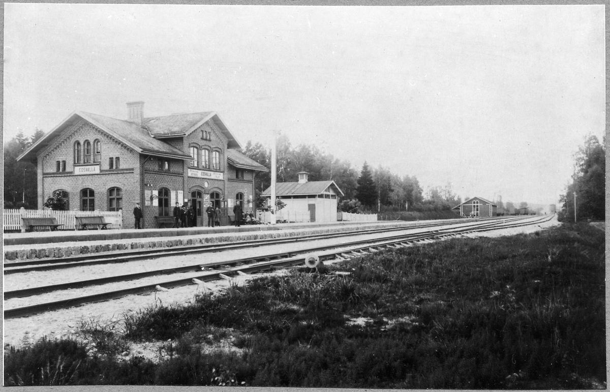 Edsvalla station.