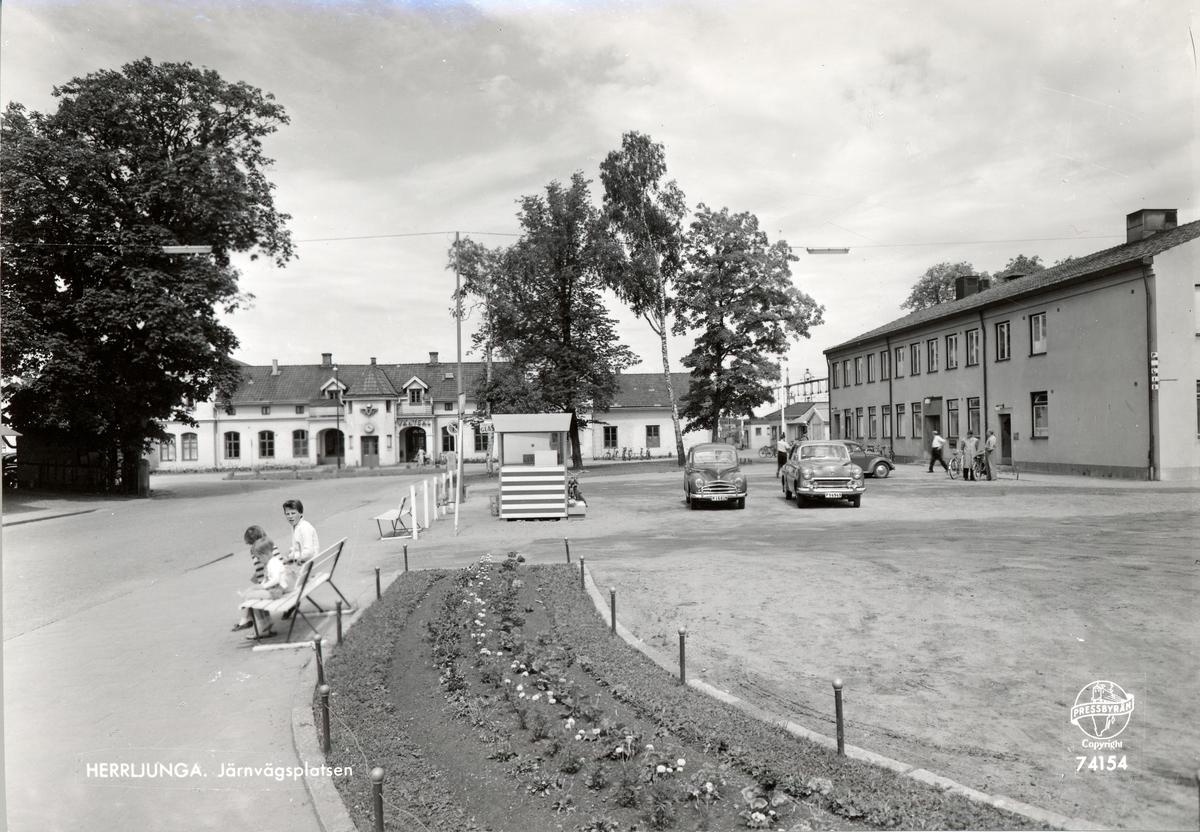 Järnvägsplatsen Herrljunga