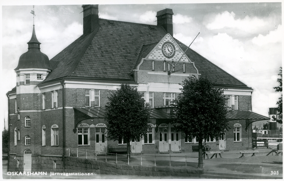 Oskarshamn station