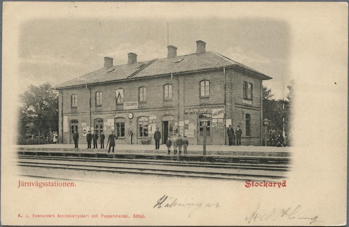 Stockaryd station.