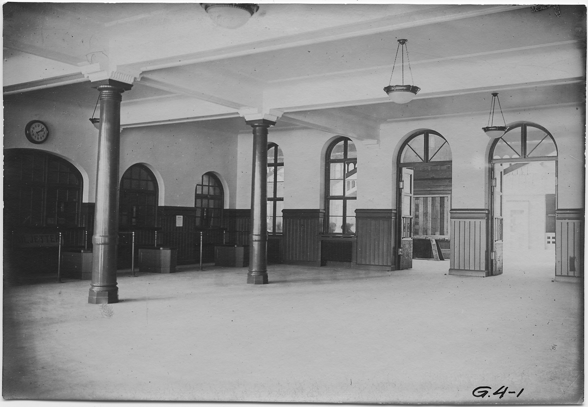 Biljetthallen på Göteborg station.