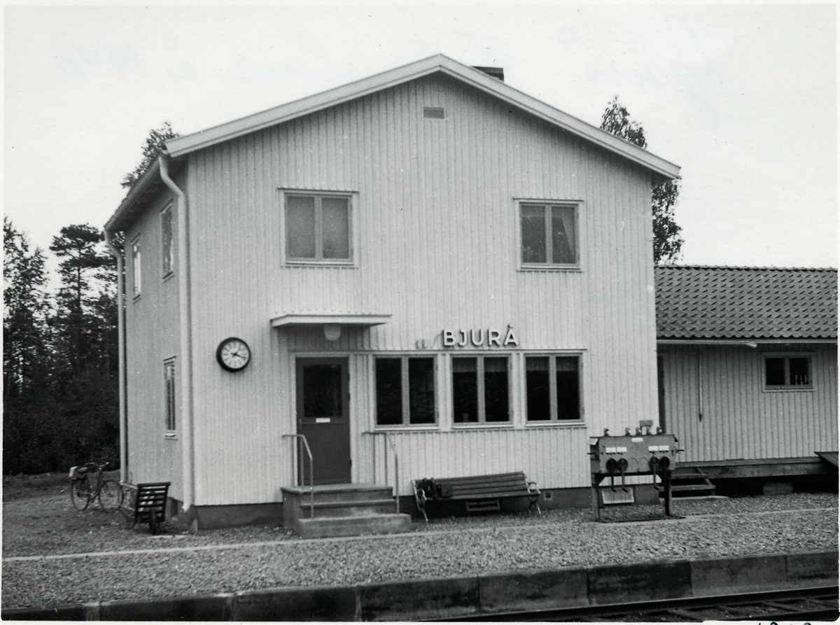 Bjurå station.
