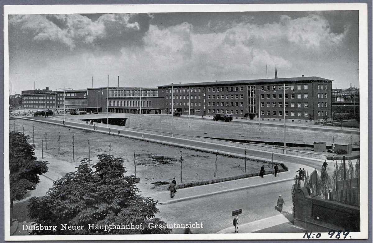 Duisburgs station.