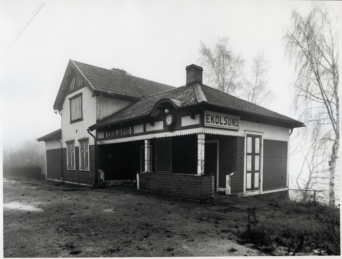 Ekolsund station.