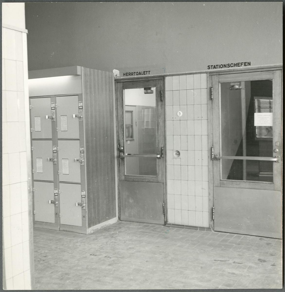 Väntsalen på Nässjö station.