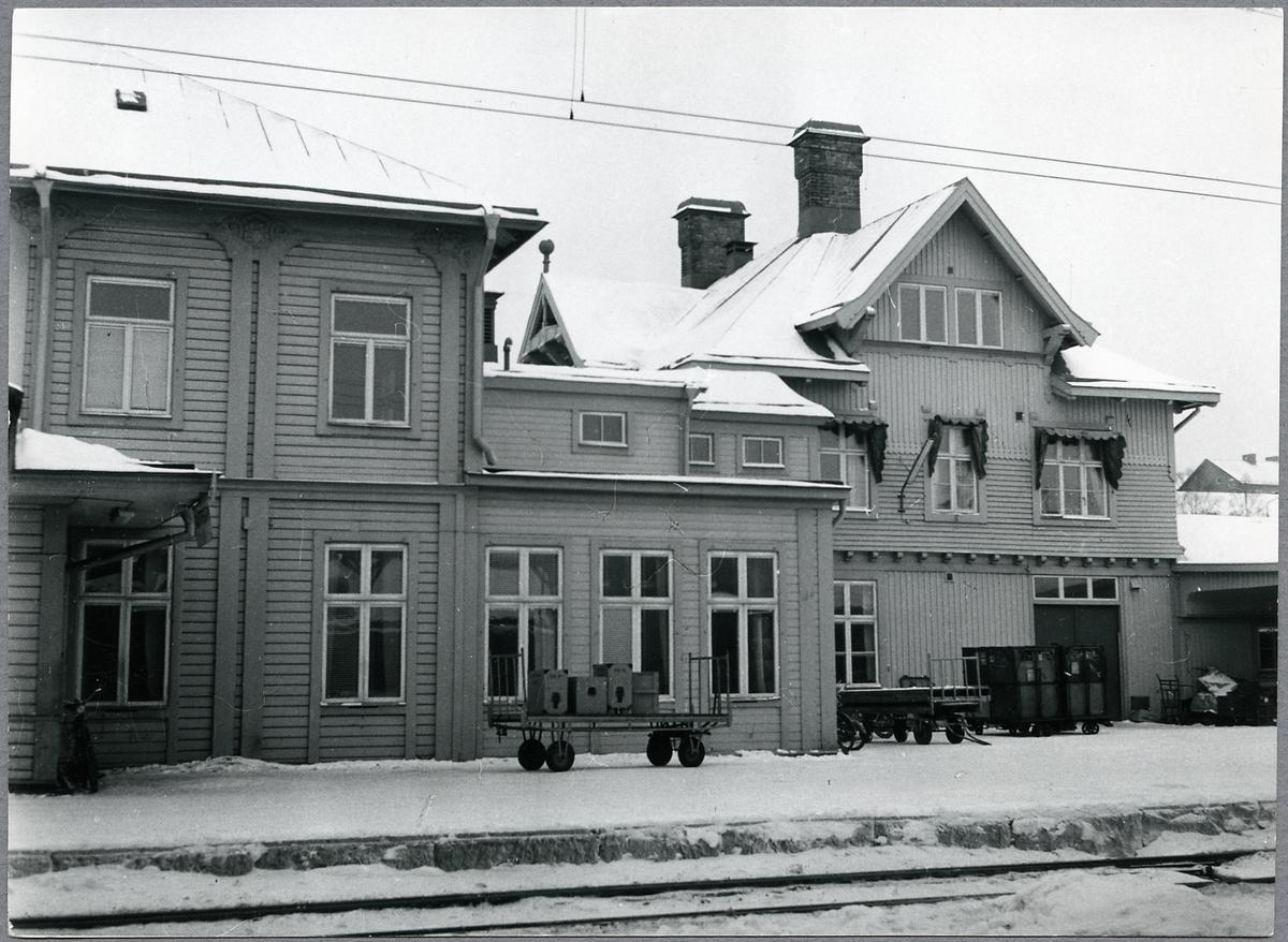 Östersund Central sett från banan.