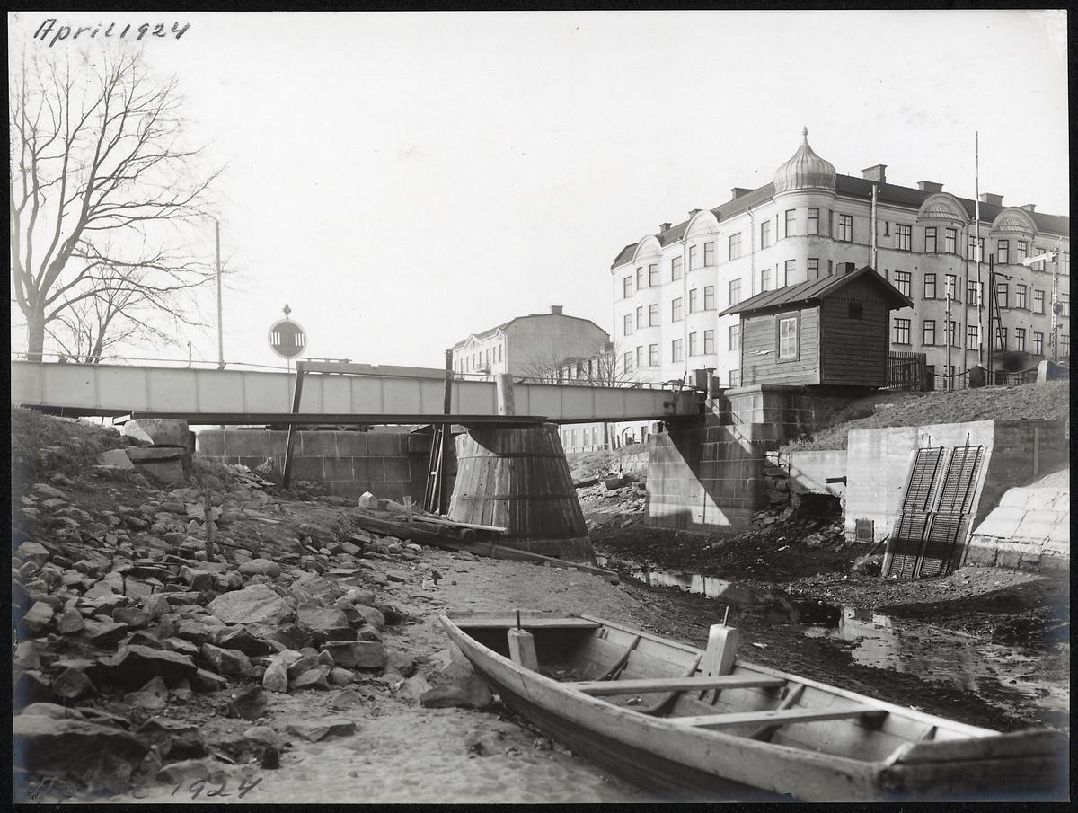Pråmkanalen i Karlstad.