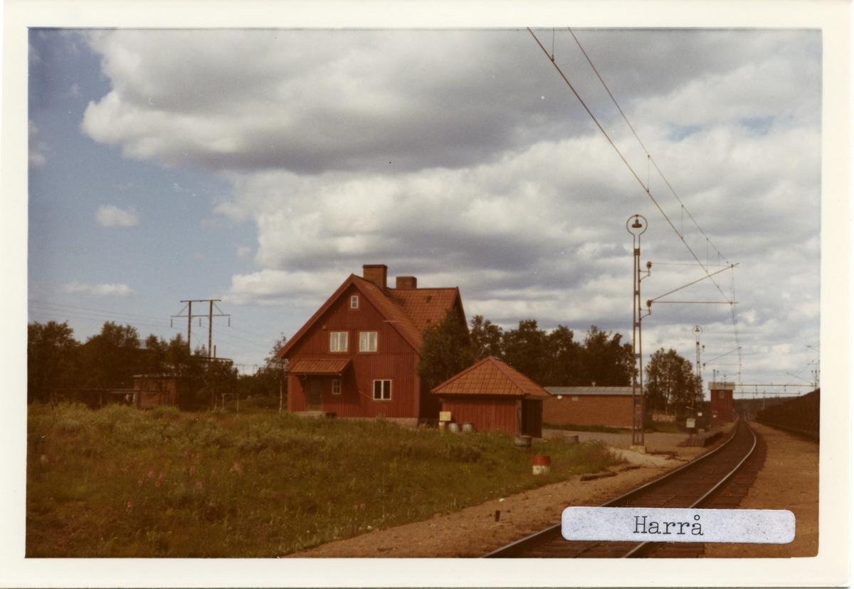 Harrå station.