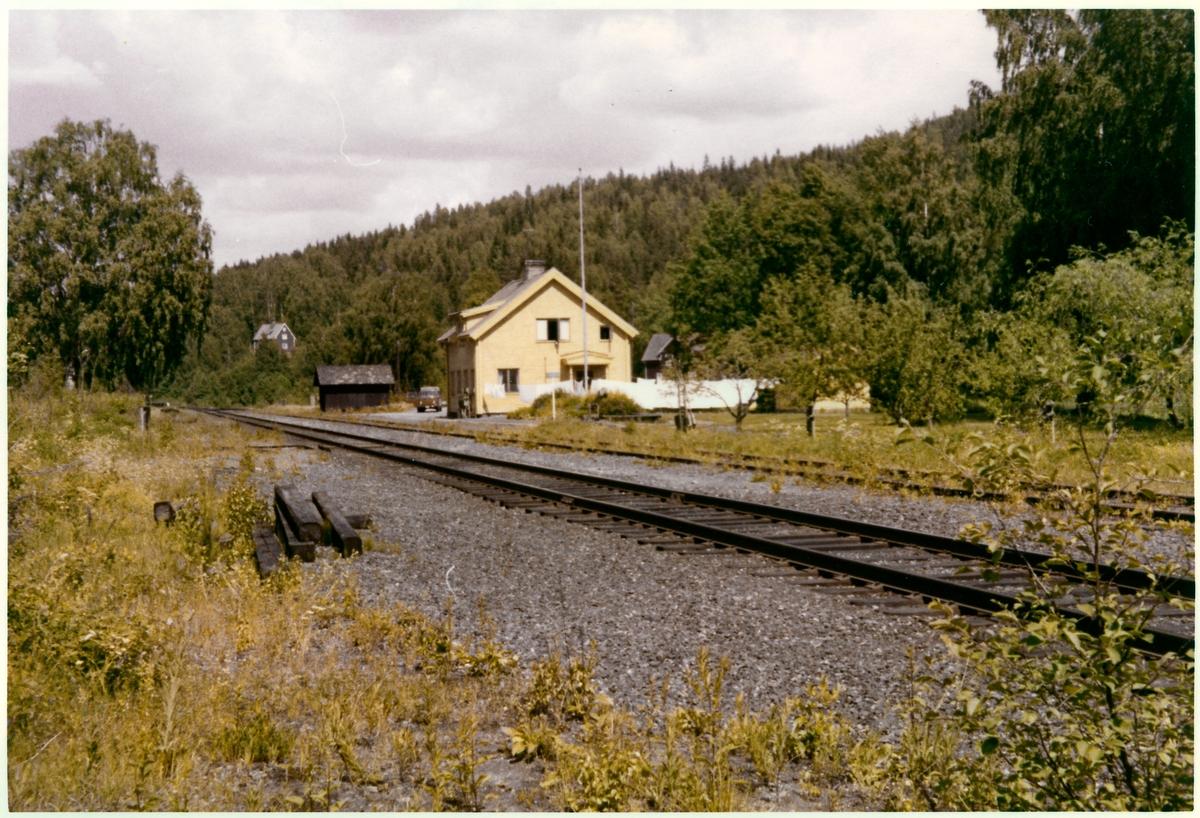 Duvnäs station omkring år 1972.