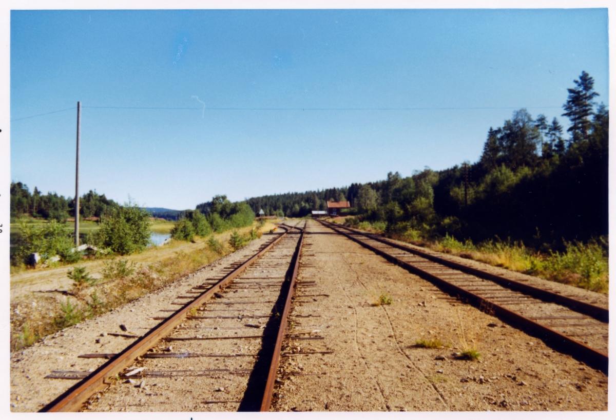 Bilden tagen i samband med stationshusinventering.