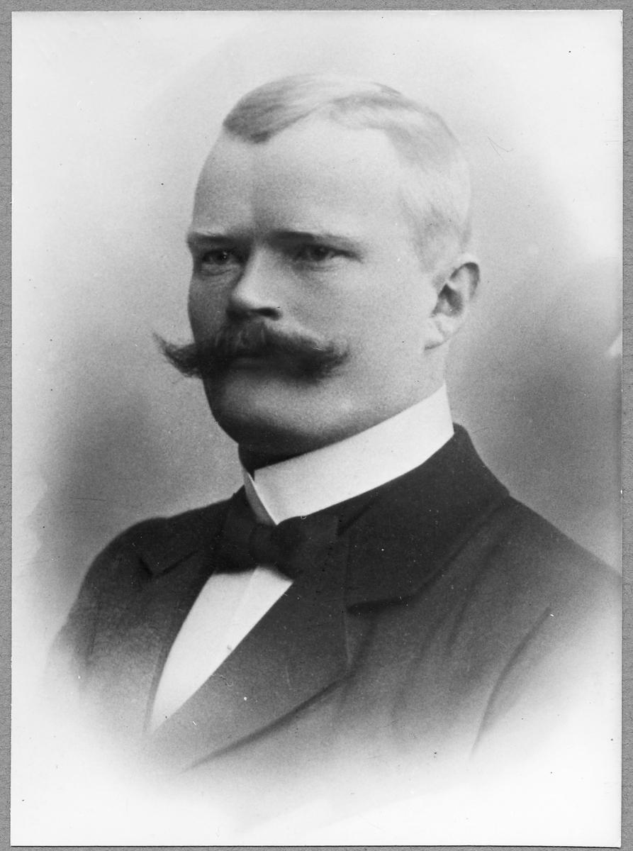 Stationsmästare Carl Fritiof Jonsson.