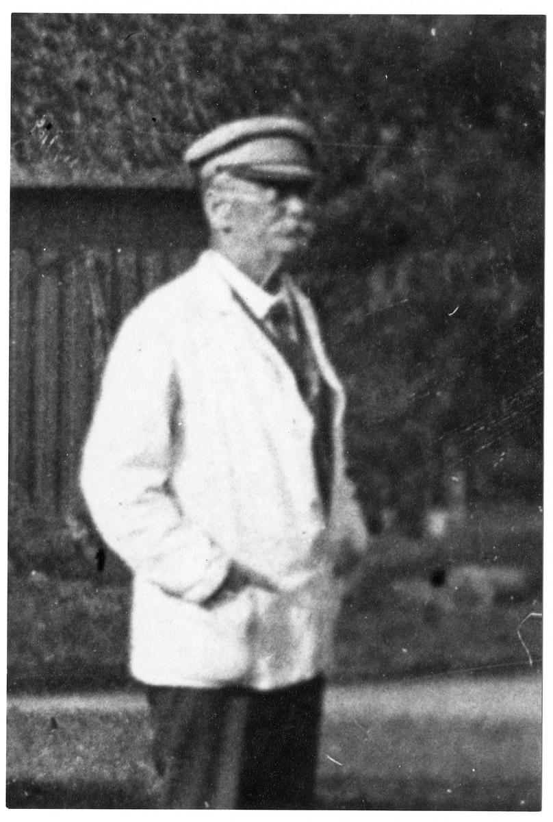 Stationsinspektor Erik Kastman.