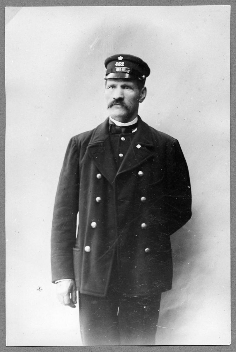 Stationskarl Herman Lidén.
