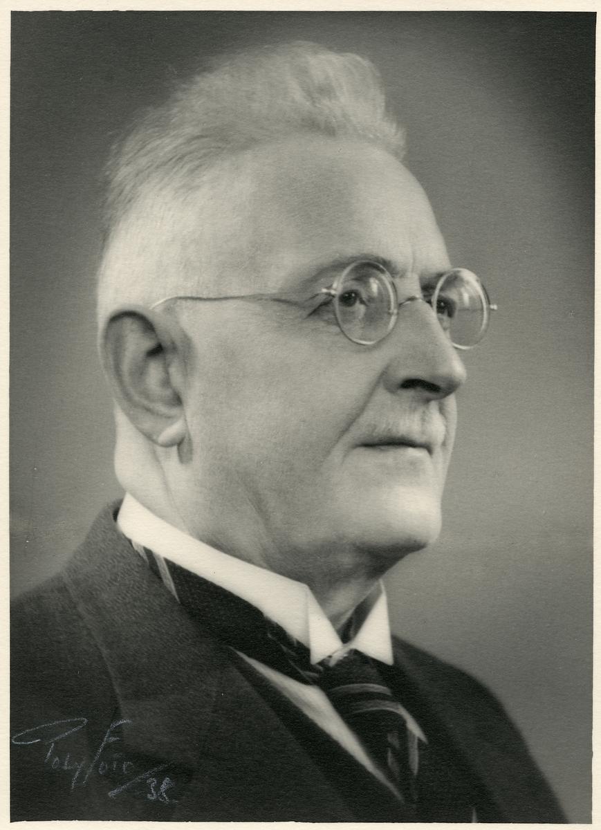 Expeditionsföreståndare Carl G. E. Rathsman.