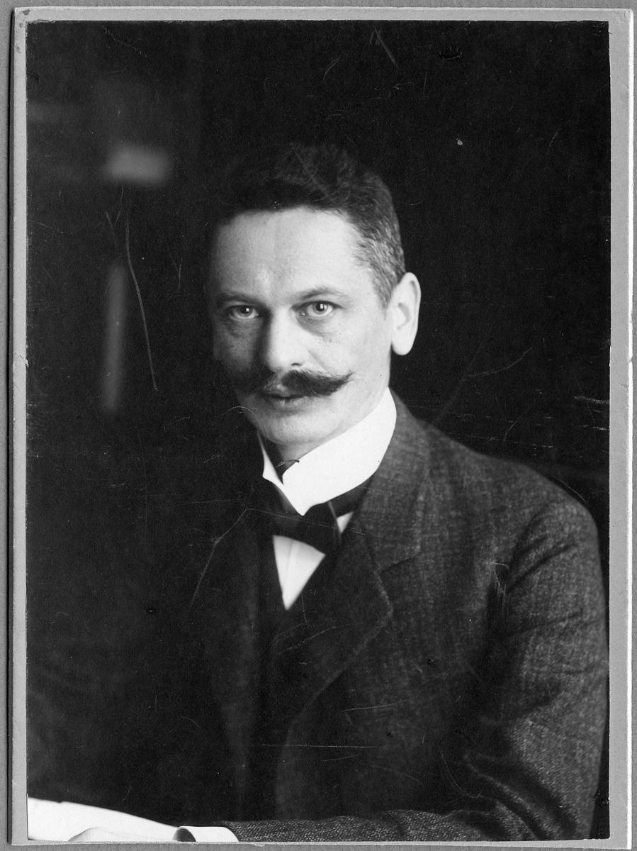 Baningenjör Lars Viktor Ståhle.