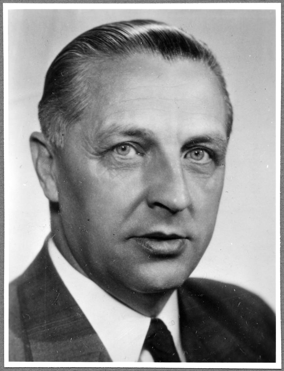 Byrådirektör Simeon Bror Edvin Vilmont. Statens Järnvägar, SJ Järnvägsstyrelsen.