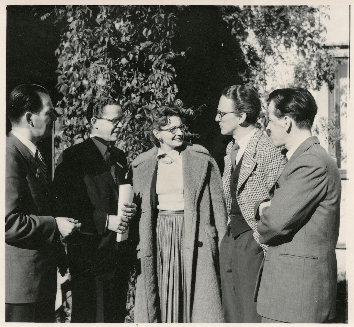 Deltagare i Jakobsbergskursen 1954.