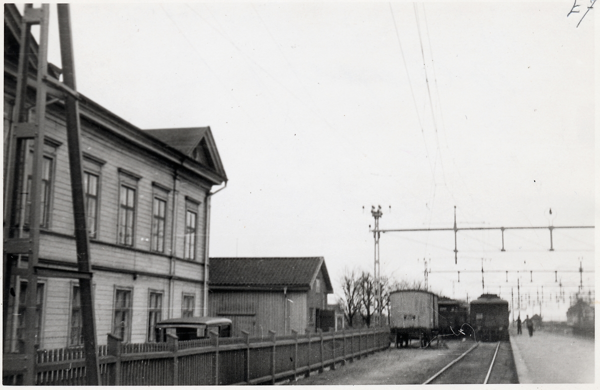 Rantens hotell vid Falköping centralstation.
