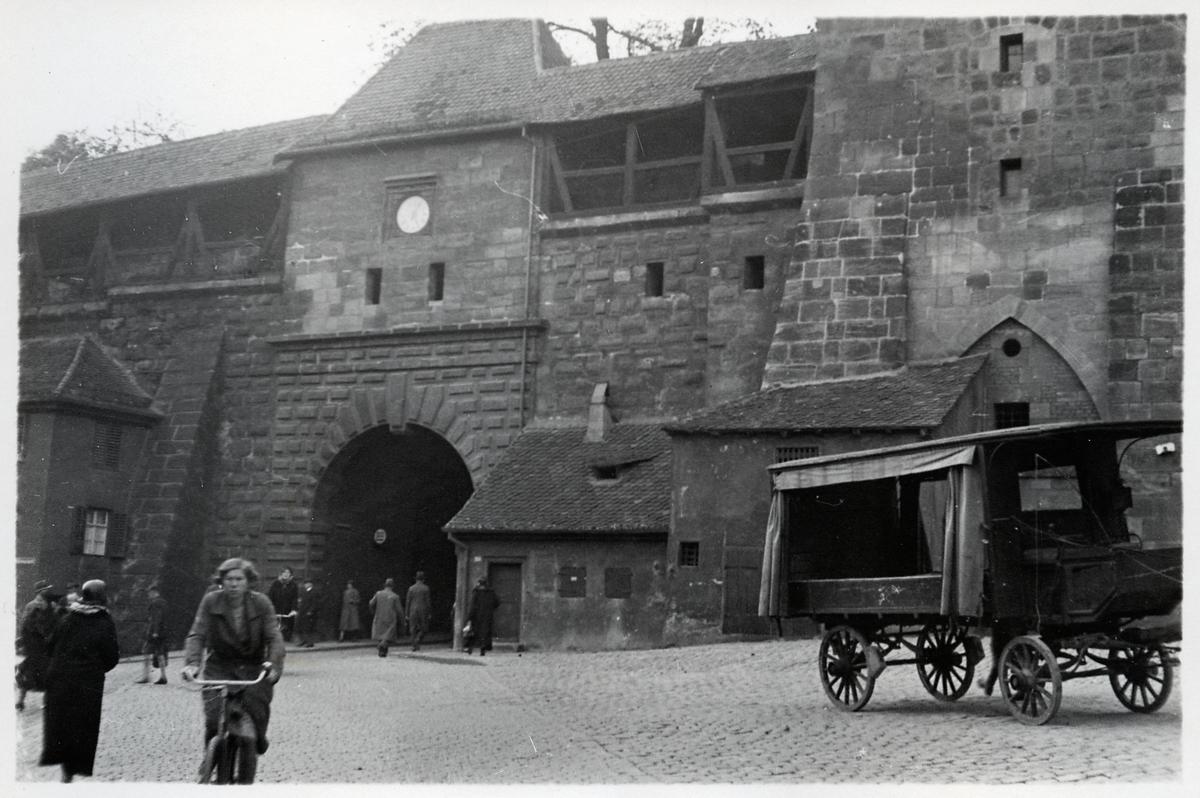 Nürnberg, stad i delstaten Bayern.