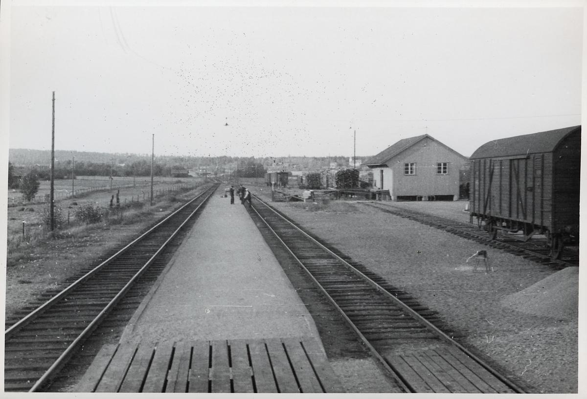 Jättendals stationsmiljö.